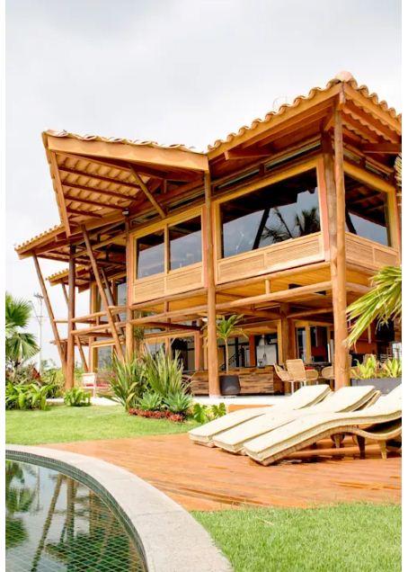 Mẫu thiết kế nhà đẹp bằng gỗ ấn tượng. 7