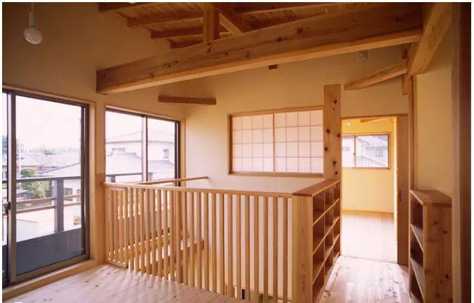 Nhà vườn 2 tầng bằng gỗ đẹp hoàn hảo. 4