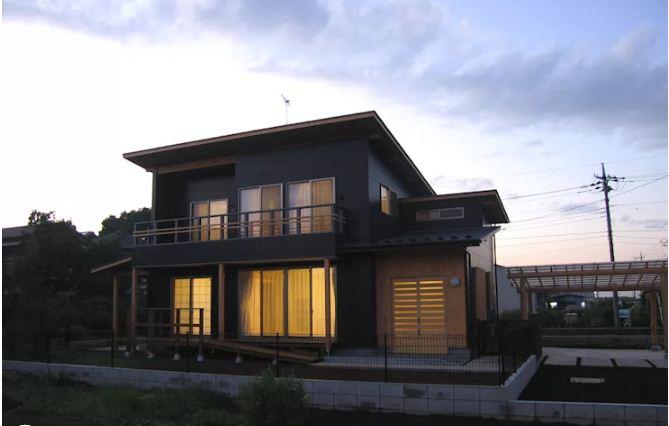 Nhà vườn 2 tầng bằng gỗ đẹp hoàn hảo. 5