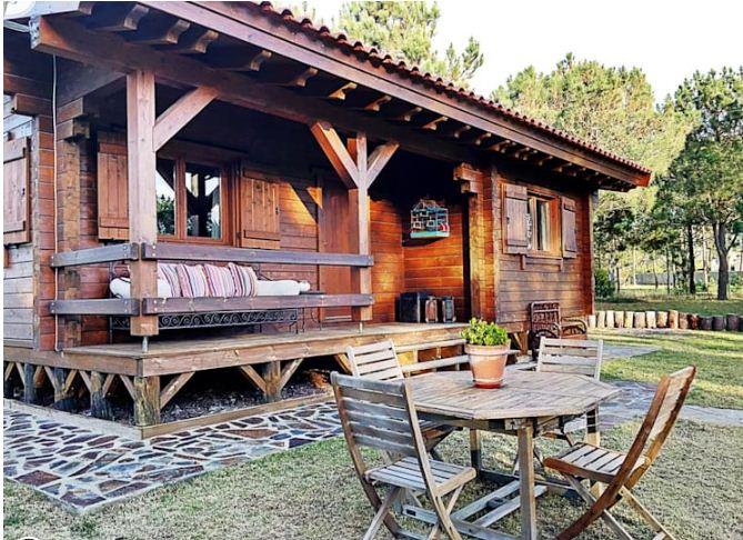 Nhà vườn đơn giản với nội thất cực chất 78m2.