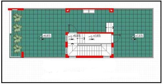 Nhà ống 3 tầng hiện đại đẹp mê ly 85m2. 4