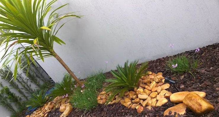 trang trí sân vườn tiểu cảnh cho nhà đẹp mê ly. 2