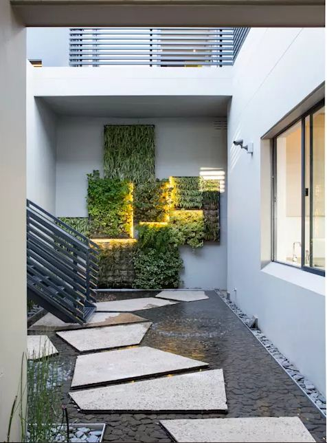 trang trí sân vườn tiểu cảnh cho nhà đẹp mê ly. 7