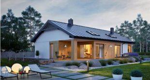 Nhà vườn nhỏ xinh 150m2 với nội thất hiện đại. 1