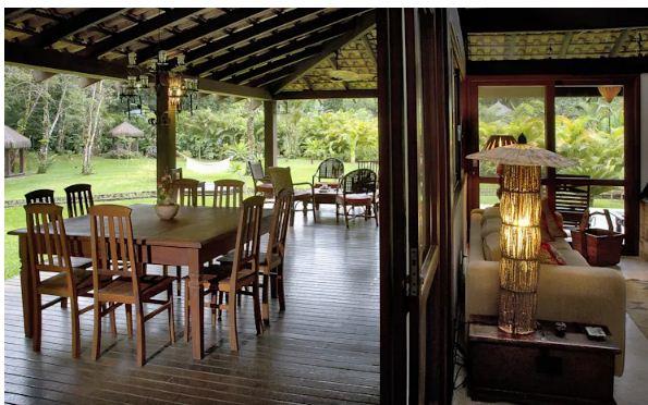 Nhà vườn 2 tầng cho nghỉ dưỡng và thiền định. 3
