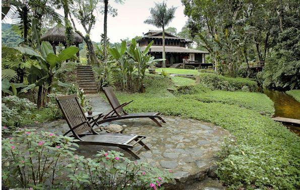 Nhà vườn 2 tầng cho nghỉ dưỡng và thiền định. 6