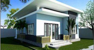 Mẫu thiết kế nhà đẹp 1 tầng 10x10m hiện đại