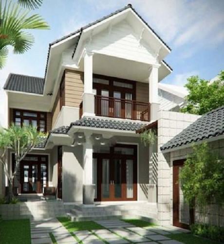 5 mẫu kiến trúc nhà 2 tầng đẹp mà bạn nên tham khảo 2
