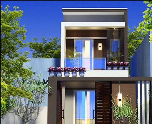 5 mẫu kiến trúc nhà 2 tầng đẹp mà bạn nên tham khảo 4