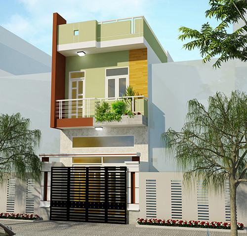 5 mẫu kiến trúc nhà 2 tầng đẹp mà bạn nên tham khảo 5