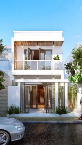 5 mẫu kiến trúc nhà 2 tầng đẹp mà bạn nên tham khảo - 1