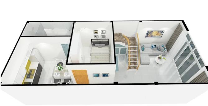 Tư vấn thiết kế nhà có gác lửng độc đáo. 2