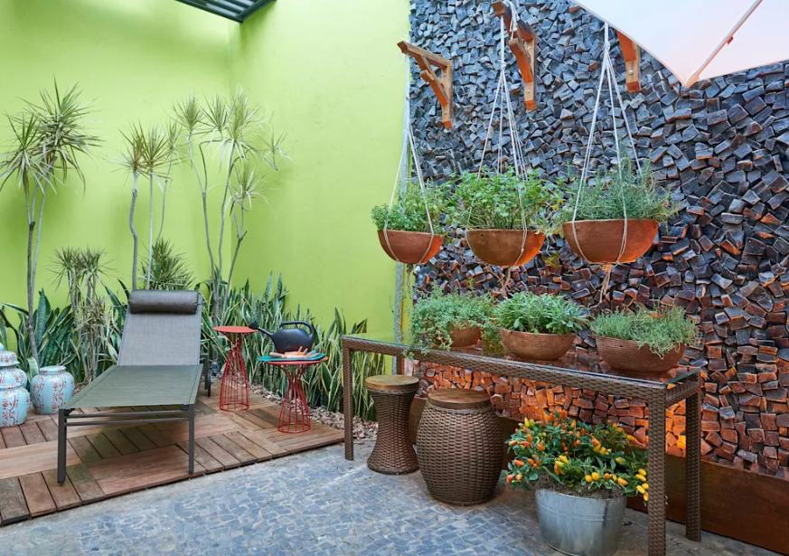 những mẫu vườn nhỏ xinh - không gian sinh động