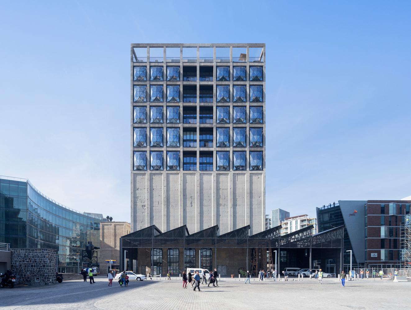 Kham phá kiến trúc nổi tiếng thế giới Zeitz MOCAA 2