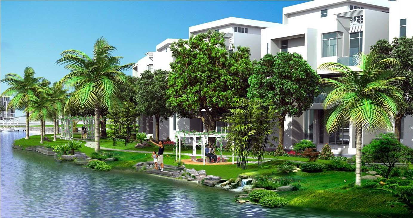 Biệt thự sân vườn xu hướng phát triển đô thị bền vững cho tương lai 5
