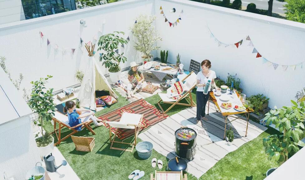 Thiết kế nhà biệt thự - Vườn sân thượng giải trí 1