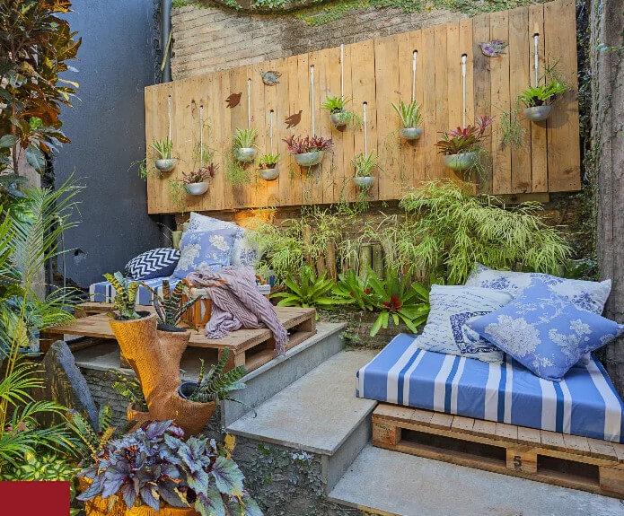 Thiết kế nhà biệt thự - Ốc đảo xanh trên vườn sân thượng 1