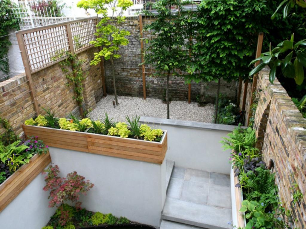 Vườn sân thượng nhỏ - Thiết kế nhà biệt thự