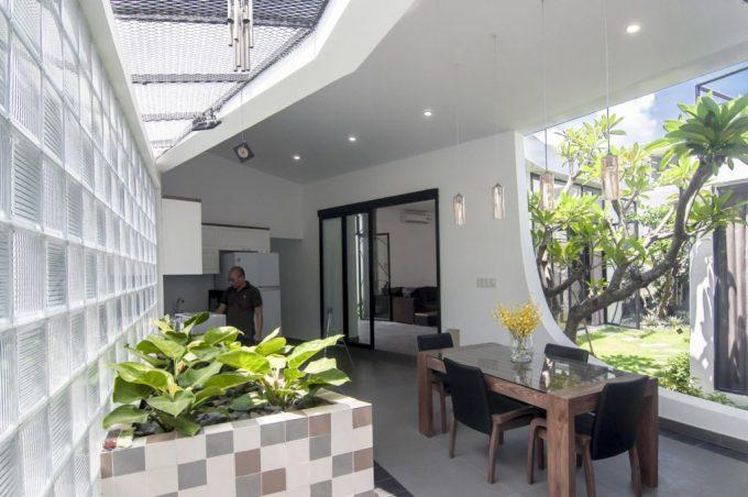 Mặt bằng công năng và vẻ đẹp của mẫu thiết kế kiến trúc nhà phố xanh - 2
