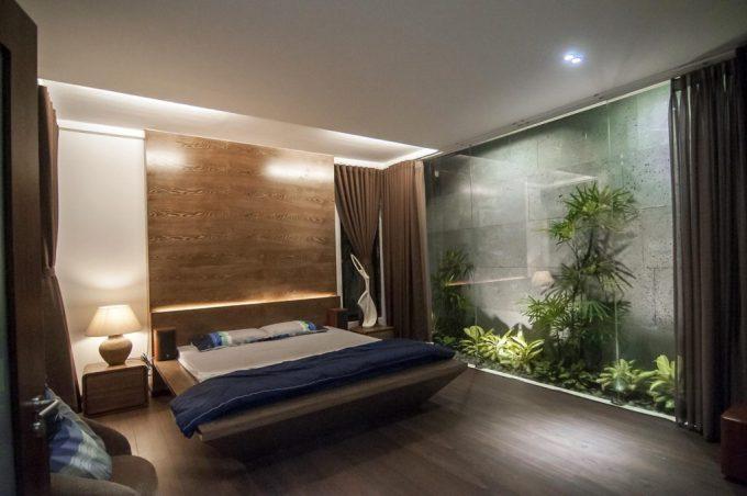 Mặt bằng công năng và vẻ đẹp của mẫu thiết kế kiến trúc nhà phố xanh - 5