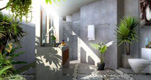 Sử dụng các mảng xanh trong kiến trúc nhà phố