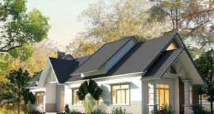 Kiến trúc xanh trong thiết kế nhà cấp 4 mái thái