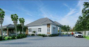 Vẻ đẹp kiến trúc xanh trong thiết kế nhà vườn đẹp - 2