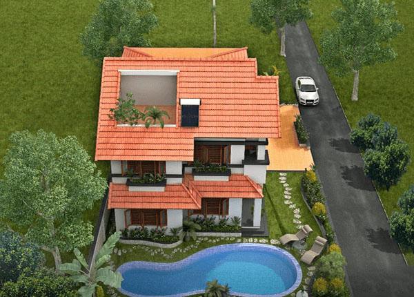 PC2 - Biệt thự vườn 2 tầng có bể bơi