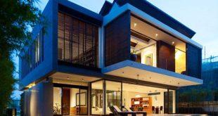 Kiến trúc biệt thự xanh 2 tầng hiện đại - 01