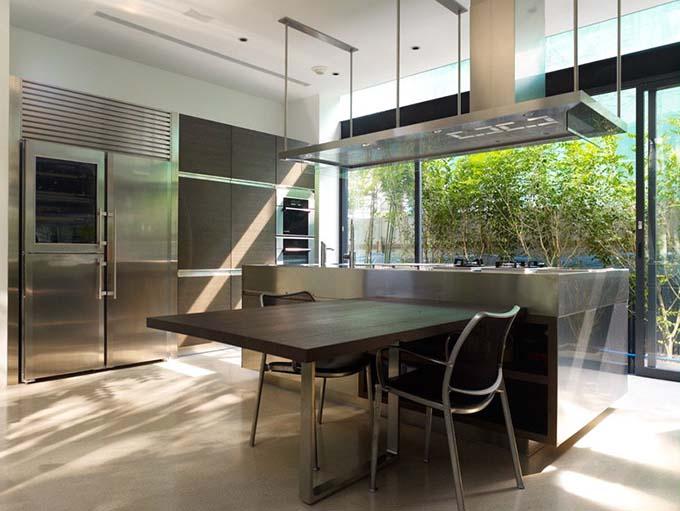 Khu bếp ăn - Nhà biệt thự xanh đẹp 2 tầng hiện đại - 06