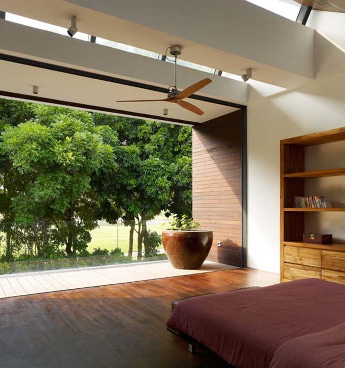 Phòng ngủ - Nhà biệt thự xanh đẹp 2 tầng hiện đại - 07
