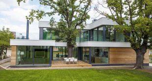 Kiến trúc xanh trong biệt thự hiện đại thiết kế mở
