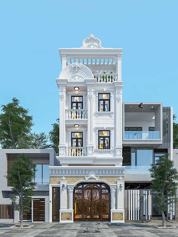 Mẫu kiến trúc số 1