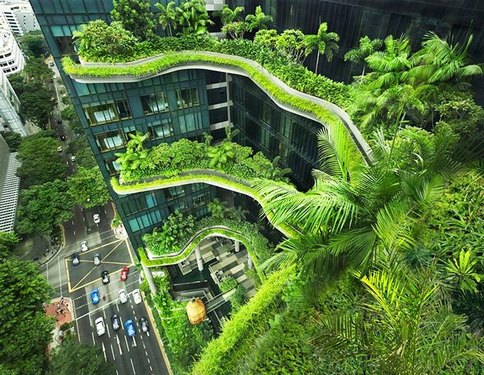 Khách sạn theo xu hướng kiến trúc xanh tại Singapore