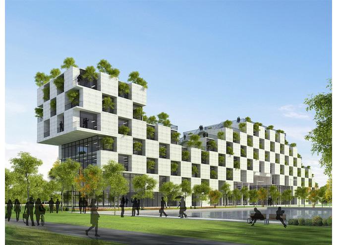 công trình kiến trúc xanh ĐH FPT